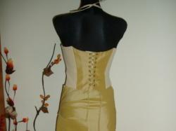 Elegancka sukienka, gorset, spódnica, rozm. 38