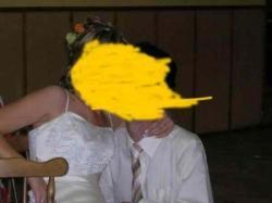Elegancka sukienka ślubna