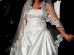 Elegancka suknia Anjolique 42 ecru
