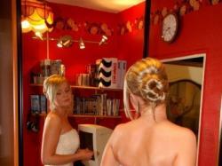 Elegancka suknia Lisa Ferrera - okazja!!!