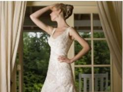 Elegancka suknia renomowanej, znanej firmy Sincerity Bridal model 3319 ivory