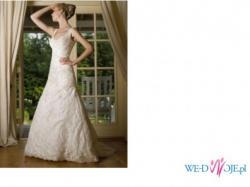 Elegancka suknia renomowanej, znanej firmy Sincerity Bridal model 3319 ivory kol