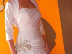 ELEGANCKA suknia rozm.42 + bolerko GRATIS