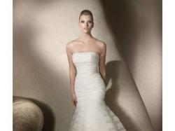 Elegancka suknia SAN PATRICK 2012 model Roseton z organzy