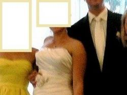 Elegancka suknia Sincerity Bridal +2 welony GRATIS