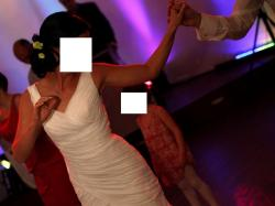 Elegancka suknia ślubna!