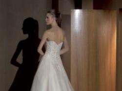Elegancka suknia ślubna ATELIER DIAGONAL 805 rozmiar 34/36