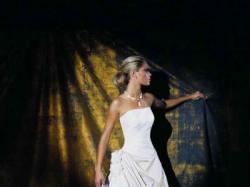 Elegancka suknia ślubna Cosmobella 7185