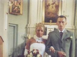Elegancka suknia ślubna ecru