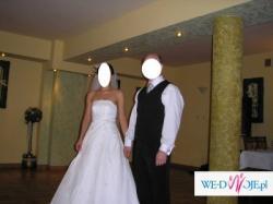 Elegancka suknia ślubna kolekcja 2007