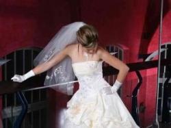 Elegancka suknia ślubna Madame Zaręba model Teofania ecru