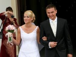 Elegancka suknia ślubna MS Moda
