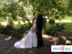 Elegancka suknia ślubna Pronovias