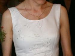 Elegancka suknia ślubna, rozm. 36, 390zł