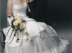 Elegancka suknia ślubna SPOSABELLA, kolekcja 2008