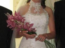 Elegancka suknia ślubna - sprzedam