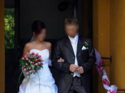 elegancka suknia ślubna - sprzedam (śląskie)