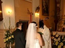 elegancka włoska suknia ślubna