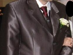 Elegancki i wyjaekowy garnitur