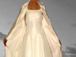 Elegancki płaszcz ślubny CYMBELINE