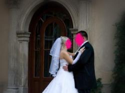 elgancka  biała suknia slubna rozm.38-40 Tarnów+dodatki