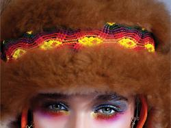 Etniczne i bajeczne makijaże - galeria zdjęć