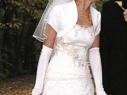 FABIANE - suknia ślubna w kolorze ecru