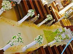 Fabryka Ślubów Dekoracje sal weselnych Fontanna  Kielce