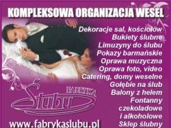 Fabryka Ślubu organizacja wesel dekoracje weselne Rzeszów