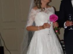 Fajna suknia ślubna