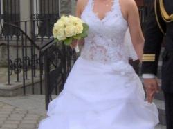 FARAGE PARIS model 5005 niebanalna suknia ślubna