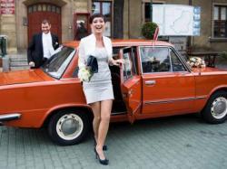 FIAT 125p Poznań-oryginalny samochód, auto do ślubu