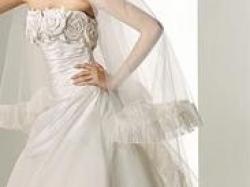 Firmowa Suknia Ślubna Hiszpańskiego Projektanta Manuel Mota