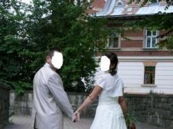 Firmowy Garnitur ślubny- MAGRA