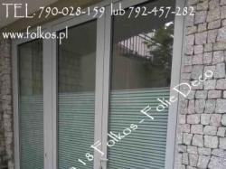 Folie Dekoracyjne na okna Warszawa- Oklejanie szyb - sprzedaz folii