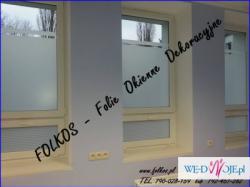 Folie na balkony, okna i drzwi Warszawa- Oklejanie szyb, sprzedaz folii