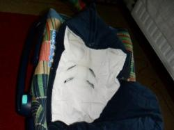 Fotelik maxi cosi 0-13kg + śpiworek maxi cosi+dodatkowy ocieplacz+podusia