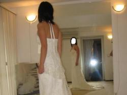 Francuska oryginalna suknia