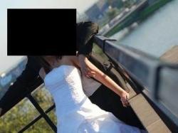 Francuska suknia ślubna 2010!!! Rozmiar 38