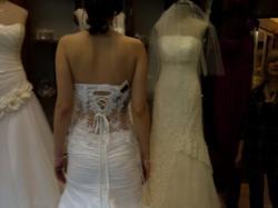 Francuska suknia ślubna 36/38, bolerko GRATIS!