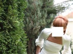 Francuska suknia ślubna Cymbeline Damille + bolerko + okrycie wierzchnie