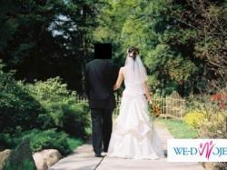Francuska suknia ślubna firmy EMELIE COSTA !!! BARDZO TANIO !!!