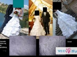 Francuska suknia ślubna !!! Rozmiar 38