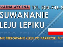 Frezowanie podłogi, cena tel. 504-746-203. Szlifowanie, skuwanie betonu, Wrocław, rozbiórki, wyburzenie.