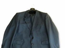 Garnitur BYTOM 188/116 CLASIC niebiesko stalowy