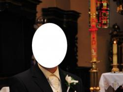 Garnitur ślubny i kamizelka