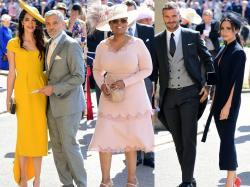 George Clooney, Oprah Winfrey i Beckhamowie - kto jeszcze pojawił się na ślubie Harry'ego i Meghan?