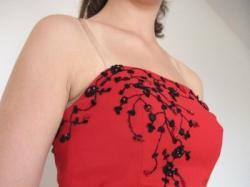 GISELLE suknia wieczorowa/studniówkowa w kolorze pięknej CZERWIENI*38/40