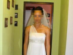 Grecka Bogini - suknia ślubna