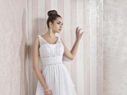 grecka suknia slubna + długi welon